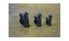 Lamor - Model GTA - Multi-Purpose Submersible Archimedean Positive Displacement High Performance Screw Pumps