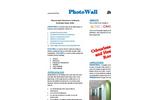 PhotoWall - Photocatalytic Breathable Coating for Roofs Brochure