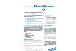PhotoSiloxane - Photocatalytic Waterborne Coating for Outdoor and Indoor Use Brochure