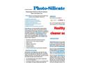 PhotoSilicate - Potassium-Silicate Based Photocatalytic Coating Brochure