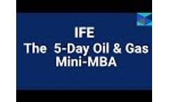 The 5-Day Oil & Gas Mini `MBA` Training Course Video