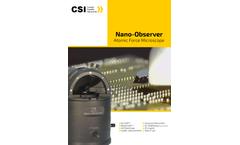 Nano-Observer - Atomic Force Microscope (AFM ) Brochure