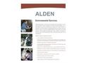 Alden - Environmental Services Brochure