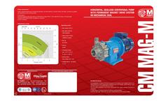 Model CM MAG-M - Metallic Centrifugal Pumps Brochure