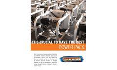 Crucial - Power Packs  - Brochure