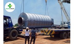 Waste Tire to Fuel Oil Pyrolysis Plant