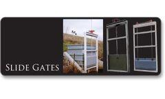 Plasti-Fab - Gray Fiberglass Reinforced Plastic Slide Gates