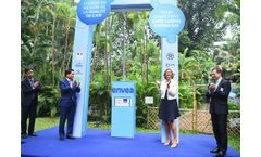 Hanoi's 11th air quality monitoring station installed at French Embassy