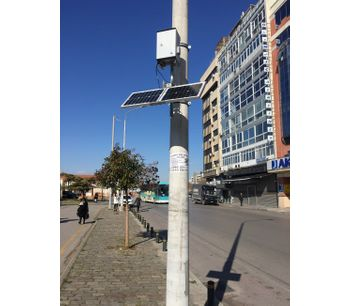 Air pollution monitoring: a solution for cost effective measurements