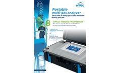 MIR 9000P Portable Multi-Gas Analyzer - Datasheet