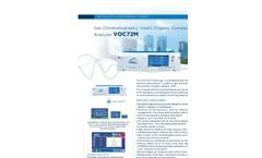 VOC72e Gas Chromatography Volatil Organic Compounds (BTEX) Analyzer - Brochure