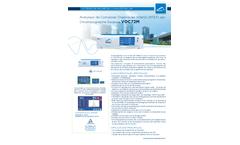 VOC72e Gas Chromatography Volatil Organic Compounds (BTEX) Analyzer (French) - Brochure