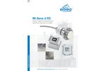 M-Sens 2 FD - Online Moisture Measurement with fl ow detection for solids - Brochure