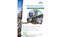 PCME STACK 710 Opacity Measurement System - Datasheet