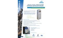 Amesa-D Dioxins, Furans, PCB and POP Emmission Permanent Sampler - Datasheet