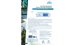 AF22e UV Fluorescence Sulfur Dioxide Analyzer - Datasheet