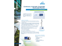 MP101M Continuous, Automatic Suspended Particulate Monitor - Datasheet