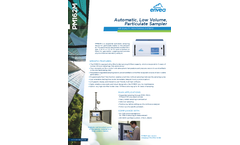 PM162M Automatic, Low Volume, Particulate Sampler - Datasheet