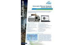 AULA-254 Gold Automatic Mercury Analyzer - Datasheet