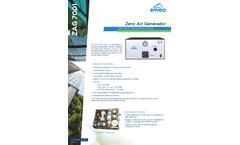 ZAG7001 Zero Air Generator - Datasheet