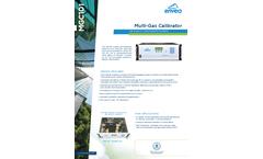 MGC101 Multi-Gas Calibrator - Datasheet