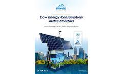ENVEA solar air quality monitoring station