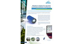 MICRO-SENSORS CAIRSENS - Miniature solution for real-time continuous pollution monitoring