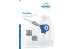PicoFlow Continuous Flow Measurement at Low Solid/Air Ratios - Datasheet
