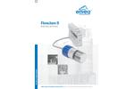 FlowJam S Bulk Flow Detection - Datasheet
