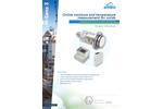 M-Sens 3 Online Moisture and Temperature Measurement for Solids - Datasheet