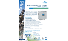 MIR 9000 CLD Multi-Gas Infrared GFC Analyzer (with CLD Option) - Datasheet