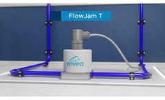 FlowJam T - Powder Flow Monitoring In Powder Coating, Water Cutting, Sand Blasting - Video