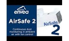 AirSafe 2 | Dust Monitoring in Ambient Air Now with Fan Control - Video
