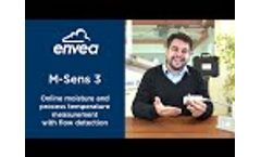M-Sens 3 - Online Moisture and Process Temperature Measurement with Flow Detection - Video