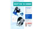 Mighty Disk™ Oil Skimmer Brochure (PDF 137 KB)