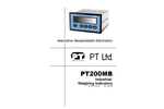 Model PT200MB - Industrial Weighing Indicators - Instruction Manual
