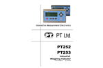 Model PT252 & PT253 - Industrial Weighing Indicator - Instruction Manual