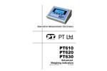 Model PT610, PT620 & PT630 - Advanced Weighing Indicators Basic Instruction Manual