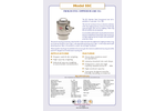 PT - Model SSC - Stainless Steel Compression Load Cell - Brochure