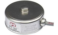 PT Limited - Model PT7000 - Stainless Low Profile Mini Disk Loadcell (100kg - 50t)