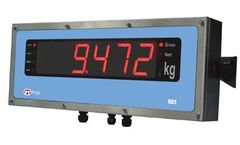 PT Limited - Model RD4/5/6 - Remote Displays for Weighing and Process