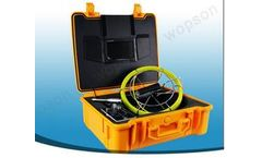 Wopson - Model WPS710DNL - Drainage and Pipe Inspection System with Stainless Steel Camera