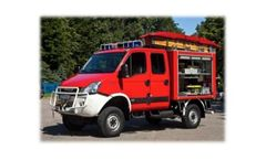 Model 500L – 1,000L - Lightweight & Quick Reaction Fire Fighting Vehicle Water Tank