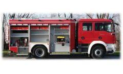 Model 1,200L – 2,500L - Municipal & General Purpose Fire Fighting Vehicles Water Tank
