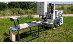 UMPT - Model BP420A / BP500A - Hydraulic Briquette Press