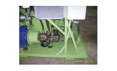 UMP - Model BP420A - Hydraulic Briquette Press for Aluminium