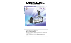 Model NRMM UGET upto 1700kW - 3 Soot Filter for Exhaust Gas Purification - Datasheet
