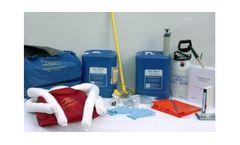 ECS - Model FM 186-2 - Spill Cleanup Starter Kit
