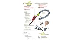 Model ECO-301-HH - Hand-Held Applicator for Herbicides & Fine-Grains - Datasheet