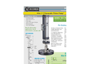 Atlas - Model 2.5 - 103 - Pneumatic Piston Pump Technical Datasheet